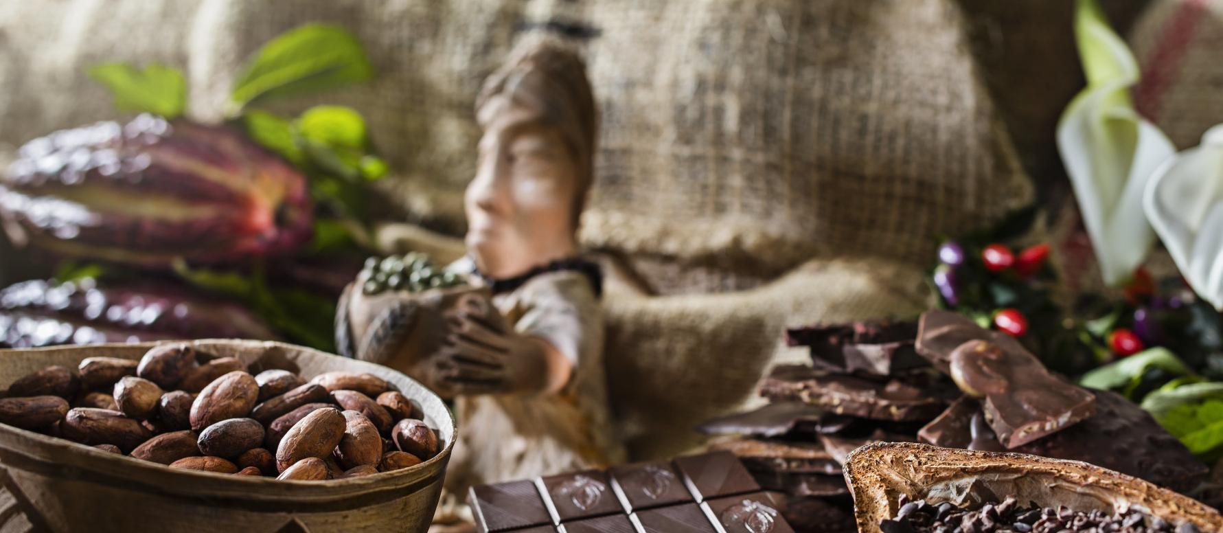 Schokoladenfoto Maya
